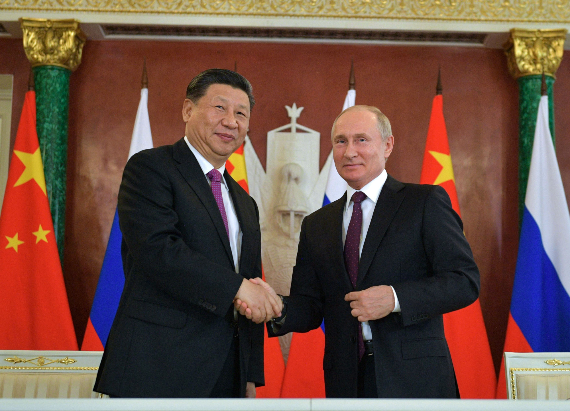 There is a sense in Beijing and Moscow that the combination of Chinese economic power and Russian political audacity can help the two countries better withstand U.S. challenges.   AFP-JIJI