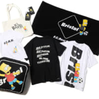 Soph. Co., Ltd.'s F.C.Real Bristol 'The Simpsons' '90s-inspired T-shirts. | SOPH. CO., LTD.