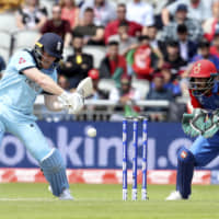 England's Eoin Morgan blasts record 17 sixes against Afghanistan