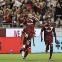 David Villa, Andres Iniesta lead Vissel to win over Grampus