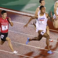 Abdul Hakim Sani Brown claims second 100-meter national title