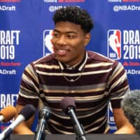 Gonzaga star Rui Hachimura, a native of Toyama Prefecture, was selected by the Washington Wizards as the ninth pick in the first round of the NBA Draft on Thursday night in New York. KYODO