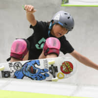 12-year-old Misugu Okamoto lays down dominant performance to win Olympic skateboarding qualifier