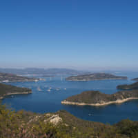 The Seto Inland Sea is west of Osaka and Kyoto.