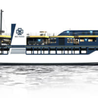 The luxury cruise ship Sea Paseo will make its debut in August.