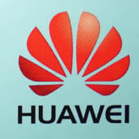 The Huawei logo is pictured in the Manhattan borough of New York Monday. | REUTERS