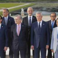 Fear of Facebook's Libra cryptocurrency initiative dominates discussion at tense G7 meeting in France