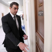 U.S. Rep. Justin Amash (R-MI), who recently tweeted his view that the Mueller report on Russia showed that President Trump had obstructed justice, arrives for a House Oversight Committee Hearing on Capitol Hill in Washington in May.   REUTERS