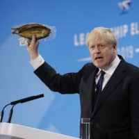 Boris Johnson says technology can enable trade deal that breaks Brexit deadlock