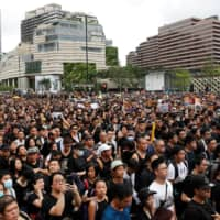 Hong Kong broadcaster accused of pro-Beijing protests coverage