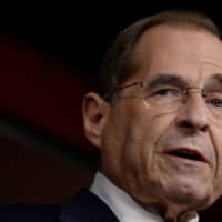 House Judiciary Committee Chairman Jerry Nadler holds a news conference to discuss the committee's oversight agenda following the Robert Mueller hearing in Washington Friday. | REUTERS