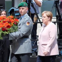 Nazi salute in Dresden shows cracks with Angela Merkel and Germany's establishment