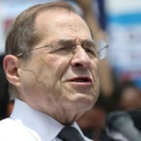 U.S. Rep. Jerrold Nadler speaks at a news conference held by Democrats on the state of voting rights in America the U.S. Capitol Building in Washington June 25. | REUTERS