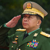 U.S. imposes sanctions on Myanmar commander in chief over Rohingya abuses
