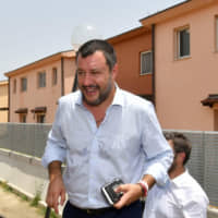 Italy's Matteo Salvini denies his League party took money from Russians via secret oil deal
