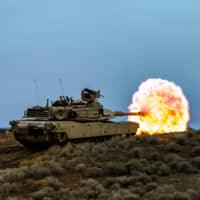The U.S. State Department on Monday OK'd the sale of M1A2T Abrams tanks like this one to Taiwan as part of a $2.2 billion arms deal. | U.S. ARMY