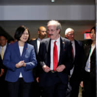 Taiwan president rejects Chinese threat of sanctions over U.S. arms sale