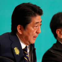 Abe calls for constitutional amendments proposals to be debated in Diet
