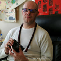 Tokyo-based camera broker Bellamy Hunt makes a living selling, sourcing, modifying and fixing film cameras for customers around the world.   RYUSEI TAKAHASHI