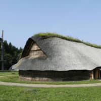 The Sannai-Maruyama site in Aomori Prefecture is one of the archaeological sites in northern Japan that the government plans to submit as a candidate for World Heritage recognition. | KYODO