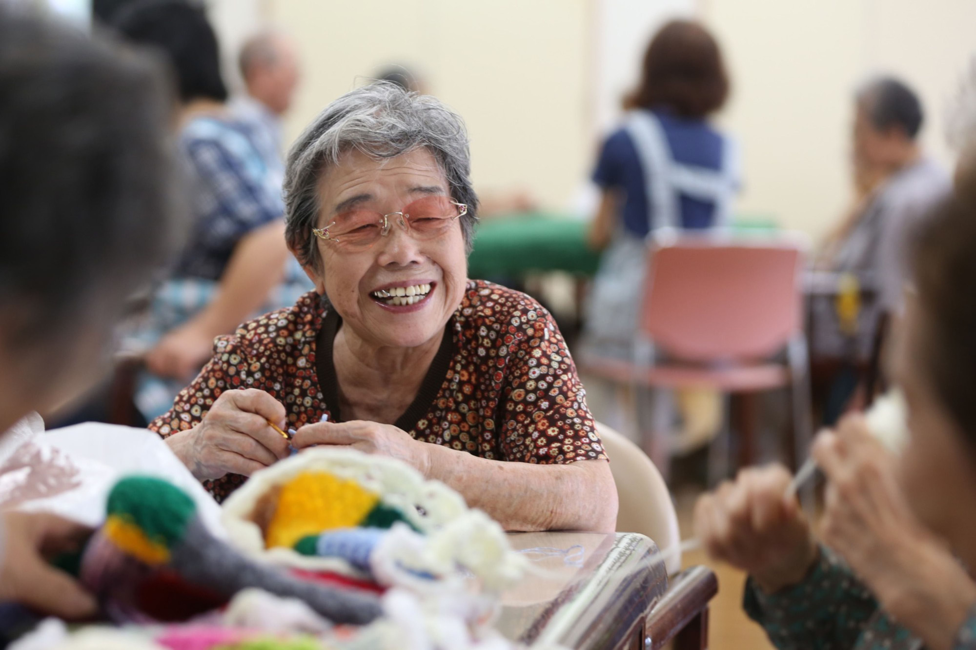 The life expectancy of Japanese women was ranked second in the world in 2018.   BLOOMBERG