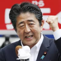 Abe considering Cabinet reshuffle in September if LDP wins Upper House election