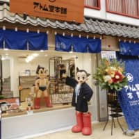 Tezuka Osamu Shop & Cafe in Tokyo is seen July 4, a day before its grand opening. The shop features characters created by the legendary manga author. | KYODO