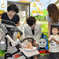 Tokyo subway train decorated with 'Thomas & Friends' characters aims to offer a kid-friendly space