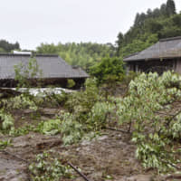 Heavy rains prompt evacuation orders in Kagoshima as weather agency warns of mudslides and floods