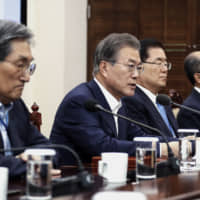 Tragedies over the trade spat with Seoul