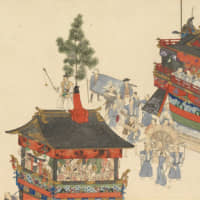 A section of Yokoyama Kazan's 'Gion Festival Handscrolls' (1835-37) | PRIVATE COLLECTION