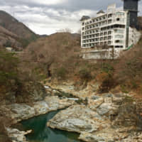 Lost to time: Once home to close to 80 accommodations, many of the hotels that line the banks of the Kinu River have shut their doors since Japan's economic bubble burst. | RUSSELL THOMAS