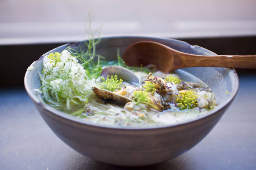 Local flavor: Susuru's ramen is made with top-quality Swiss vegetables, meat and flour. | EMILIE BOURQUIN