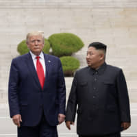 Progress in the U.S.-North Korea denuclearization negotiations is a necessary condition for improving the relationship between Japan and North Korea. | REUTERS