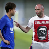 Hiroki Abe has potential to become 'important player' for Barcelona, team president says