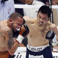 Ryota Murata reclaims WBA middleweight title with second-round TKO of Rob Brant