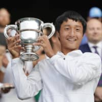 Shintaro Mochizuki becomes first Japanese to win boys' junior title at Grand Slam event