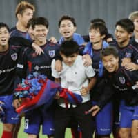 J. League clubs, players learning to deal with farewells