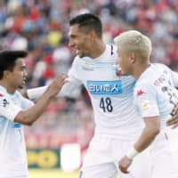 Consadole's Jay Bothroyd scores brace in victory over Bellmare