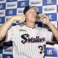 Swallows reliever Scott McGough thrilled to be late addition to CL All-Star team