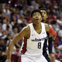 Rui Hachimura makes debut for Wizards in NBA Summer League