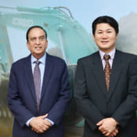 Vikram Sharma, Adviser and former Managing Director and Koji Nakagawa, Managing Director and CEO of KCEI | © KCEI