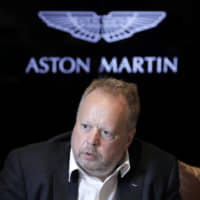 Aston Martin battles tough year in hope SUV will revive sales growth