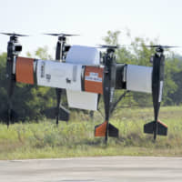 Drone designed with Yamato delivers success in Texas test