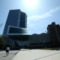 The European Central Bank in Frankfurt   REUTERS