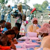 WHO sees no new Ebola cases in Goma, vaccinates over 1,300