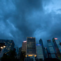 Hong Kong Financial Secretary Paul Chan's warning of an 'economic typhoon' comes after the city last week slashed its 2019 growth forecast to as little as zero, down from a previous range of 2 percent to 3 percent. | BLOOMBERG