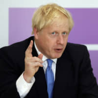 Johnson's opening Brexit bid lands flat with EU leaders