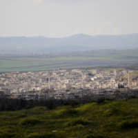 A general view shows Khan Sheikhoun in the southern countryside of Idlib in 2015. | REUTERS