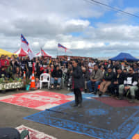 Young Maori women on frontline of New Zealand's fight for indigenous rights